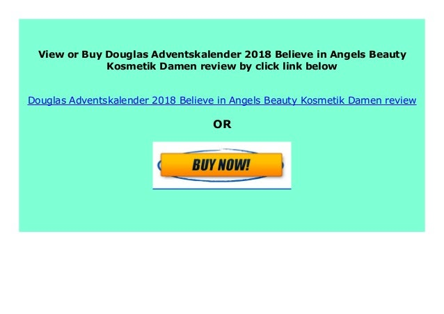 adventskalender 2019 douglas