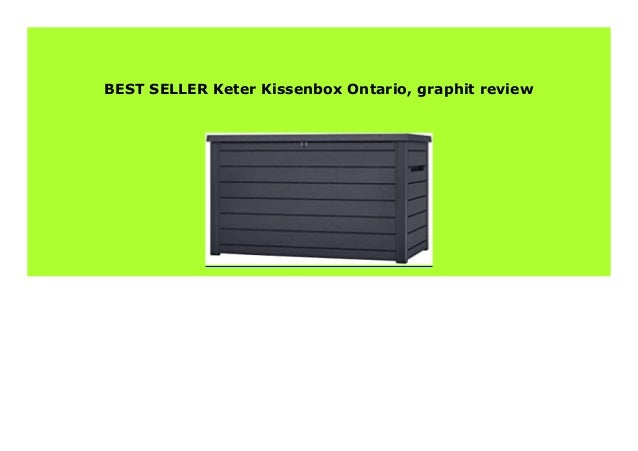 braun Keter Kissenbox Ontario