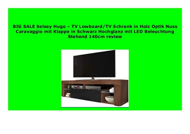 Discount Selsey Hugo Tv Lowboard Tv Schrank In Holz Optik Nuss Cara