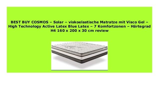 Hot Sale Cosmos Solar Viskoelastische Matratze Mit