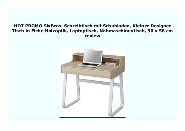 New Sixbros Schreibtisch Mit Schubladen Kleiner Designer Tisch In E