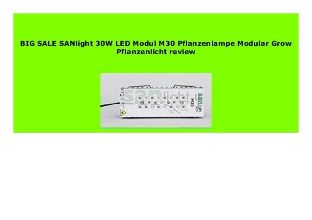 Sanlight M30 LED Grow Pflanzenlampe