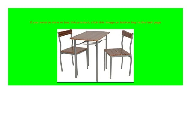 BIG DISCOUNT ts ideen 3 teilige Essgruppe 3er Set Esstisch ...