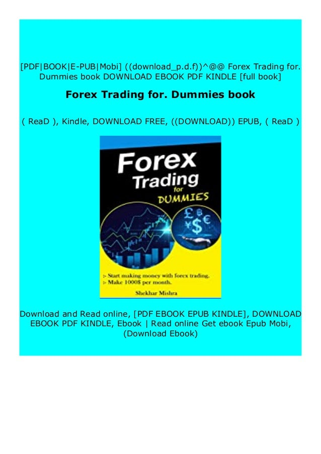Free forex for dummies book starting a real estate investment group