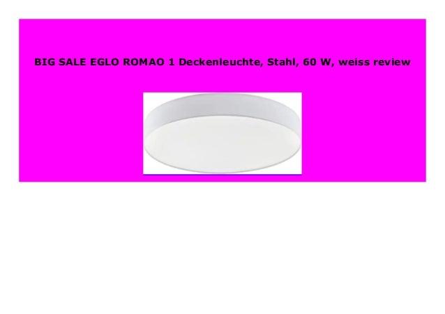 EGLO Einbauleuchte 6 W Stahl weiss