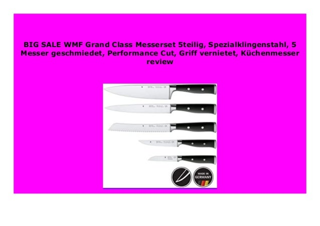 WMF Messerset  5 tlg Grand Class NEU Performance Cut