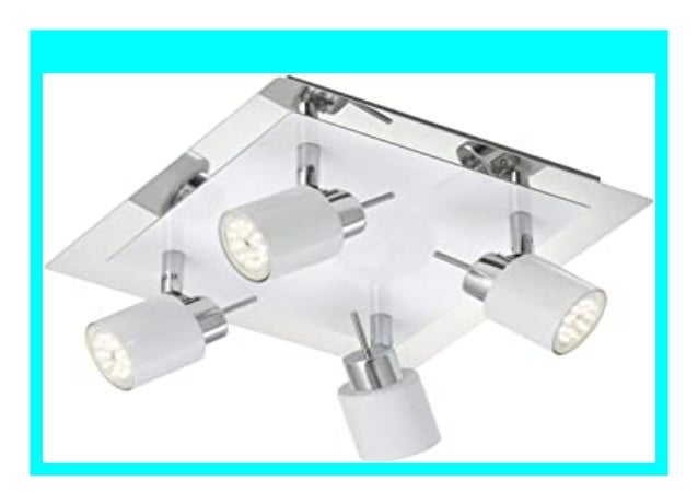 LED Deckenleuchte Deckenspot Deckenlampe Drehbar Spot Deckenstrahler Wohnzimmer