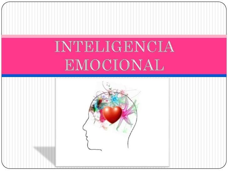  Es la habilidad de utilizar las emociones para guiar nuestra  conducta a objetos deseados.•Autoconocimiento: hay que sab...