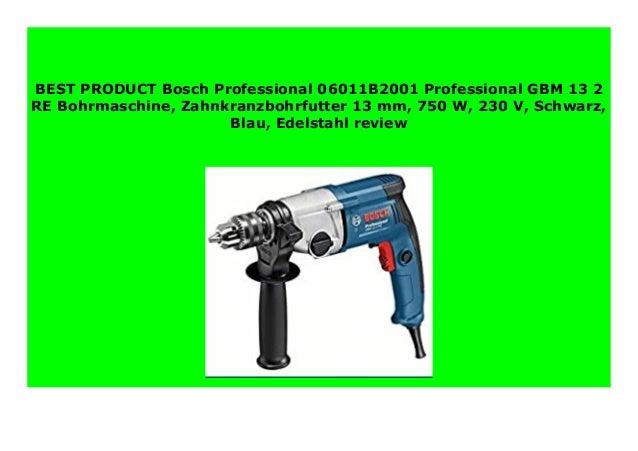 Bosch Bohrmaschine GBM 13-2 RE mit Zahnkranzbohrfutter 13 mm