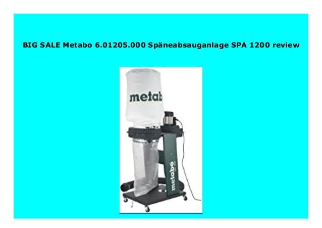 Metabo SPA 1200 Späneabsauganlage 601205000