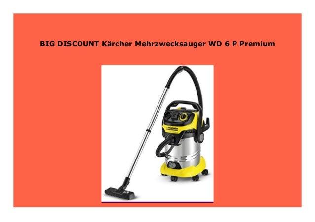 Kärcher WD 6 P Premium Mehrzwecksauger