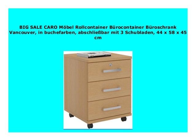 Bürocontainer Büroschrank Schreibtischcontainer Schubladencontainer abschließbar