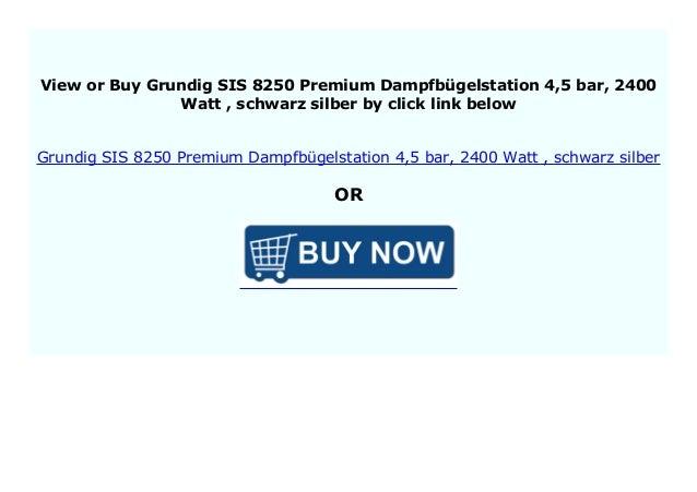 Grundig SIS 8250 Premium-Dampfbügelstation 4,5 bar 2400 W R15#2