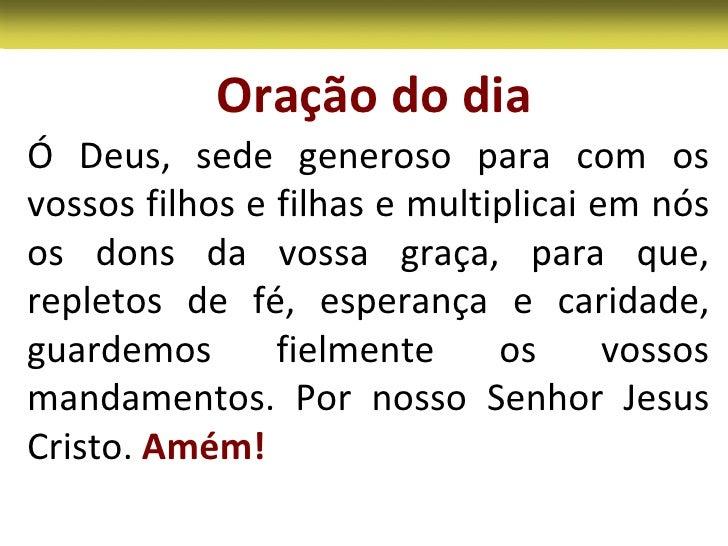 Excepcional Missa do 16 Domingo Tempo Comum Ano B XE37