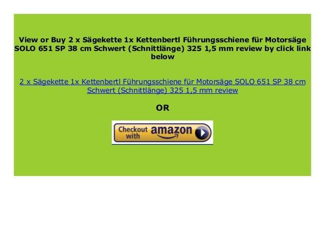 Stihl Sägekette  für Motorsäge SOLO 651 SP Schwert 38 cm 325 1,5