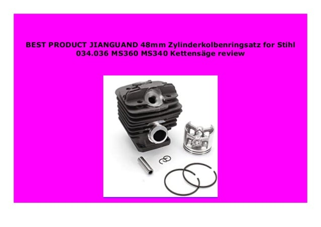 ZYLINDER ZYLINDER KIT ZYLINDER SATZ STIHL 036 MS360 MS 360 48mm