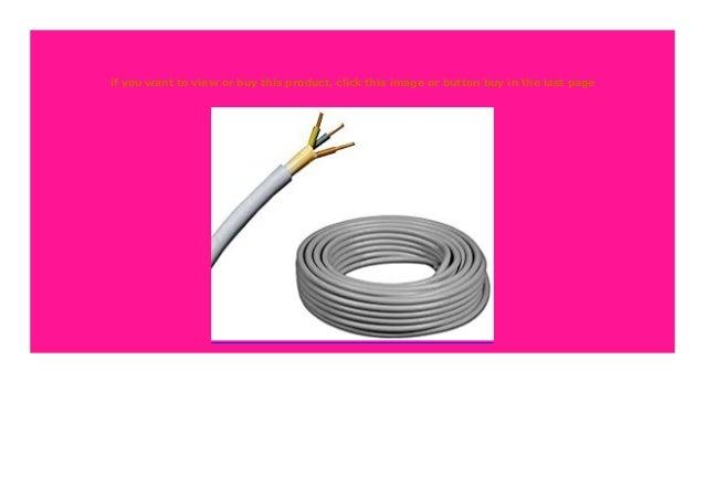 NYM-J 3X1,5 Mantelleitung Installation Elektrokabel 5-100 Meter VDE CE Prysmian