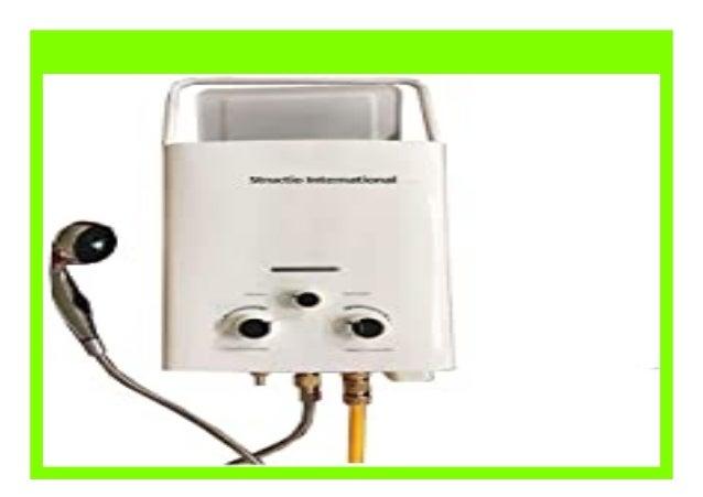 Gas Durchlauferhitzer Wasserboiler Boiler Gastherme Warmwasserbereiter Tragbar Camping Dusche 6 liter Campingdusche Pferdedusche
