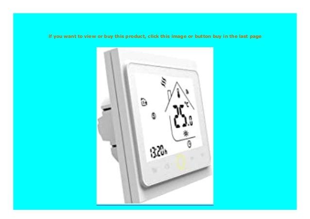 Big Sale Thermostat Wifi Smart Thermostat Temperaturregler Warmboden