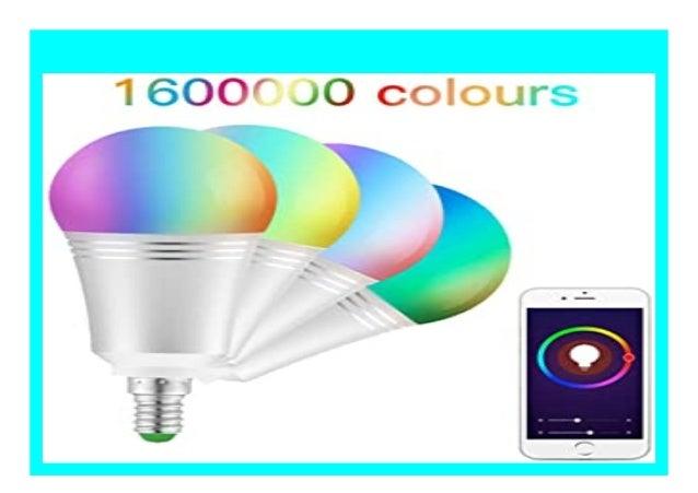 HOT PROMO QINSH Smart WLAN LED Lampe Gl hbirnen Dimmbare ...