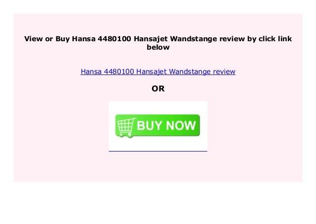 Hansa 4480100 Hansajet Wandstange