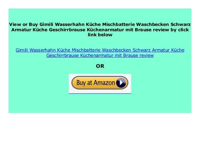 NEW Gimili Wasserhahn K che Mischbatterie Waschbecken ...