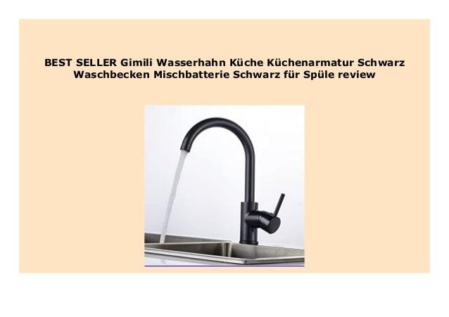 BIG SALE Gimili Wasserhahn K che K chenarmatur Schwarz ...