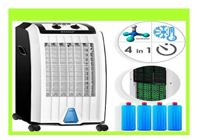 KESSER® Mobil Klimaanlage Turmventilator Luftkühler Klimagerät Standventilator
