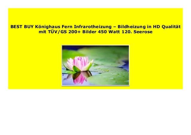 41. Seychelles Insel Palme und Meer K/önighaus Fern Infrarotheizung 200+ Bilder 1000 Watt Bildheizung in HD Qualit/ät mit T/ÜV//GS