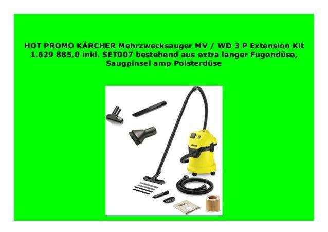 1.629-885.0 Kärcher Mehrzwecksauger WD 3 P Extension kit