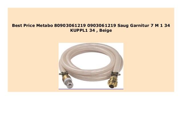 Metabo 80903061219 0903061219 Saug-Garnitur 7 M-1 KUPPL1 Beige