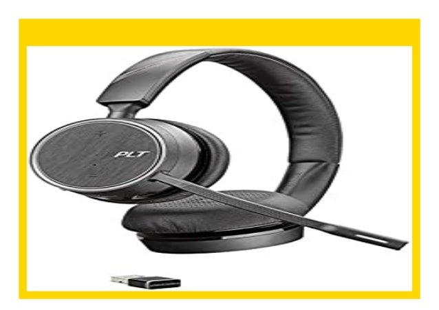 Best Buy Plantronics Bluetooth Stereo Headset Voyager 4220 Uc Binaura