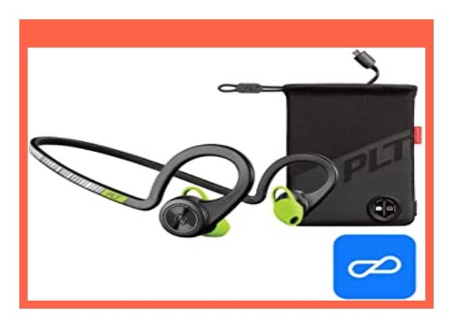 New Plantronics Backbeat Fit Black Core Boost Edition Wasserdichtes