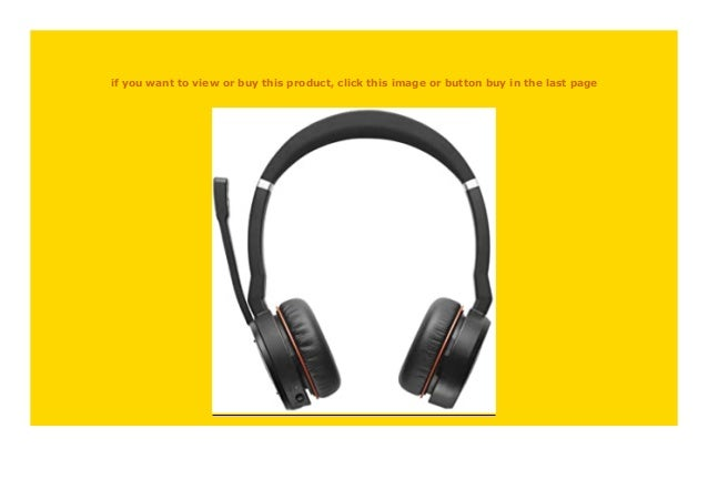 Hot Sale Jabra Evolve 75 Ms Duo Professionelles Bluetooth Headset Mit