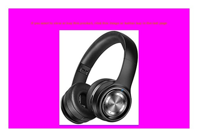 New Bluetooth Headset Yhymm Wireless Headset Over The Head Mit Mikrof