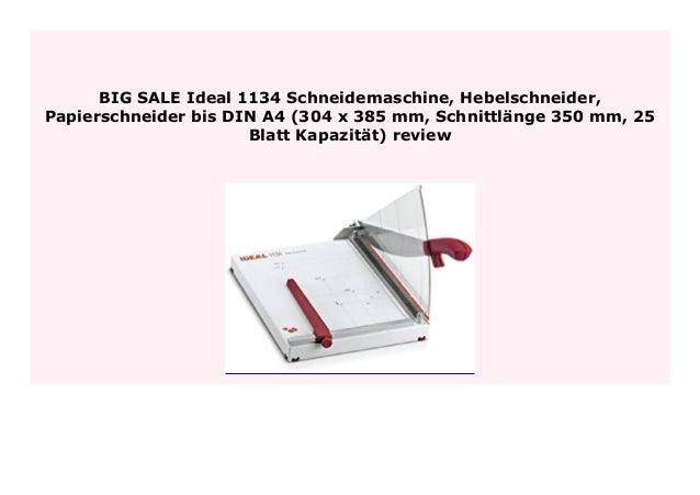 Foto Schneidemaschine NEU /& TOP A4 Papierschneider /& Papier Schneidemaschine