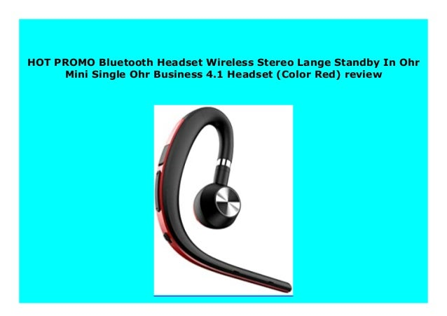 Best Buy Bluetooth Headset Wireless Stereo Lange Standby In Ohr Mini