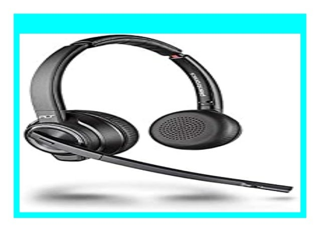 Best Buy Plantronics Bluetooth Dect Headset Savi W8220 M Binaurale Tr