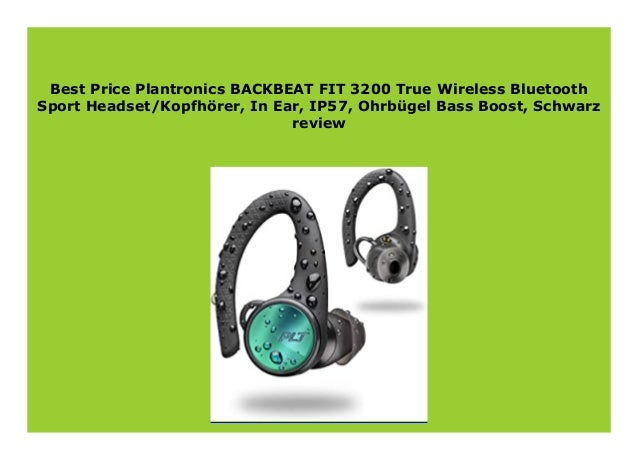 Best Buy Plantronics Backbeat Fit 3200 True Wireless Bluetooth Sport