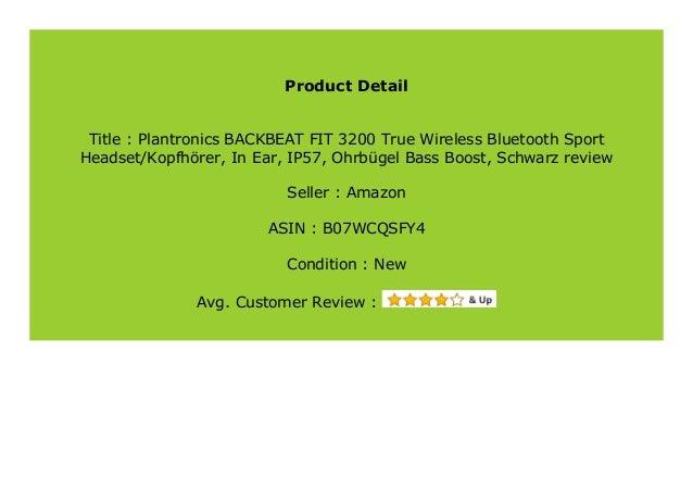 Best Buy Plantronics Backbeat Fit 3200 True Wireless Bluetooth Sport