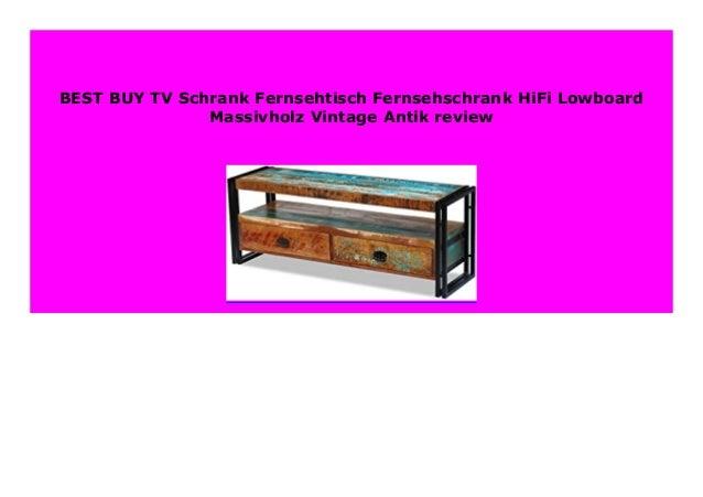 Best Seller Tv Schrank Fernsehtisch Fernsehschrank Hifi Lowboard Mass
