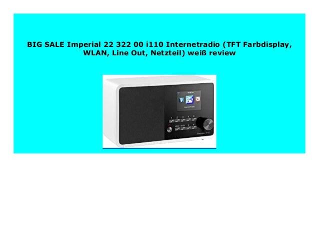 IMPERIAL i110 22-322-00 weiß Internetradio Radio WLAN