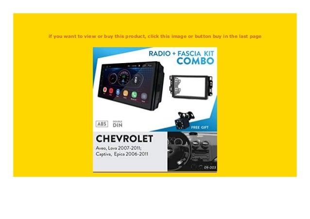 Radioblende DIN Autoradio für Chevrolet Epica Aveo Captiva 2006-2011