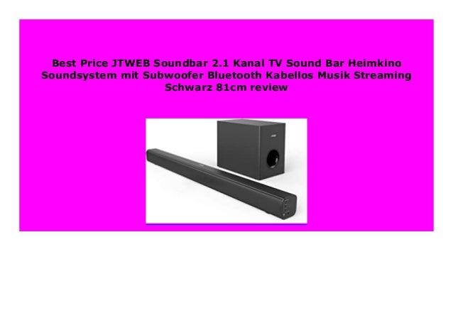 Best Price JTWEB Soundbar 2.1 Kanal TV Sound Bar Heimkino ...