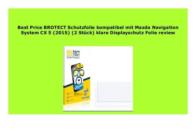 2x BROTECT Displayschutzfolie Klar Garmin GPSMAP 66st Schutzfolie Folie