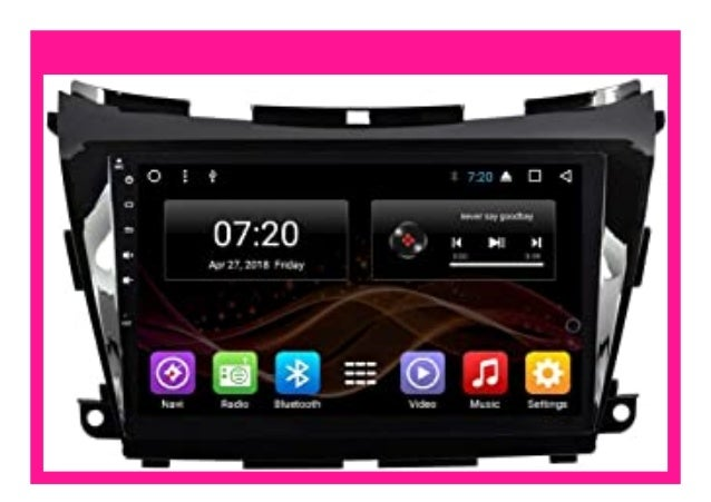 Best Buy 2 5d Ips Android 7 Car Dvd Radio Gps Navigation For Nissan