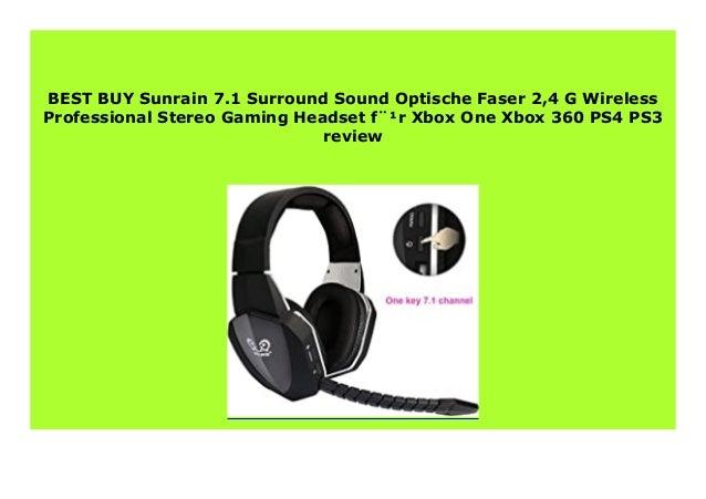 Best Seller Sunrain 7 1 Surround Sound Optische Faser 2 4 G Wireless