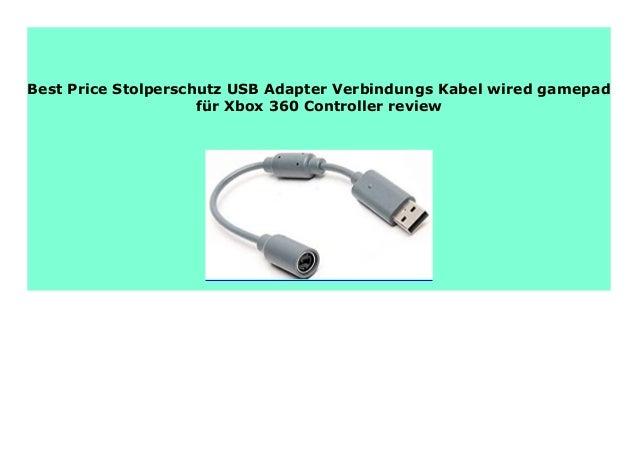 Best Product Stolperschutz Usb Adapter Verbindungs Kabel Wired Gamepa