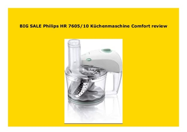 Philips HR7605//10 Küchenmaschine