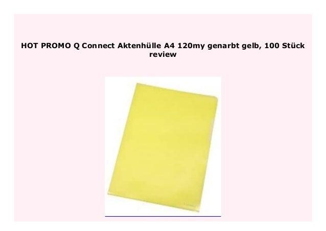 Q-CONNECT Aktenhülle A4